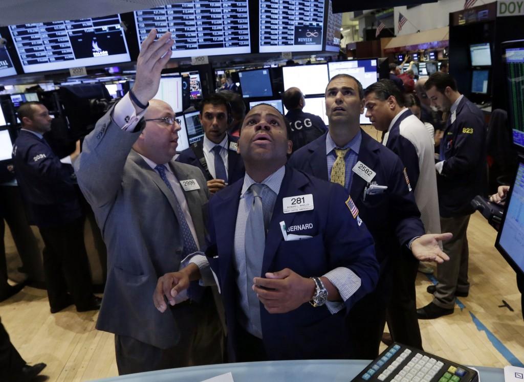 Momentul cand Bursa de la Wall Street s-a prabusit in 2008