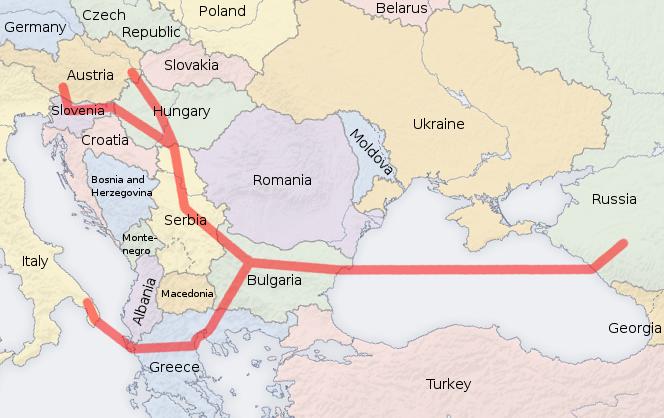 South_Stream_map
