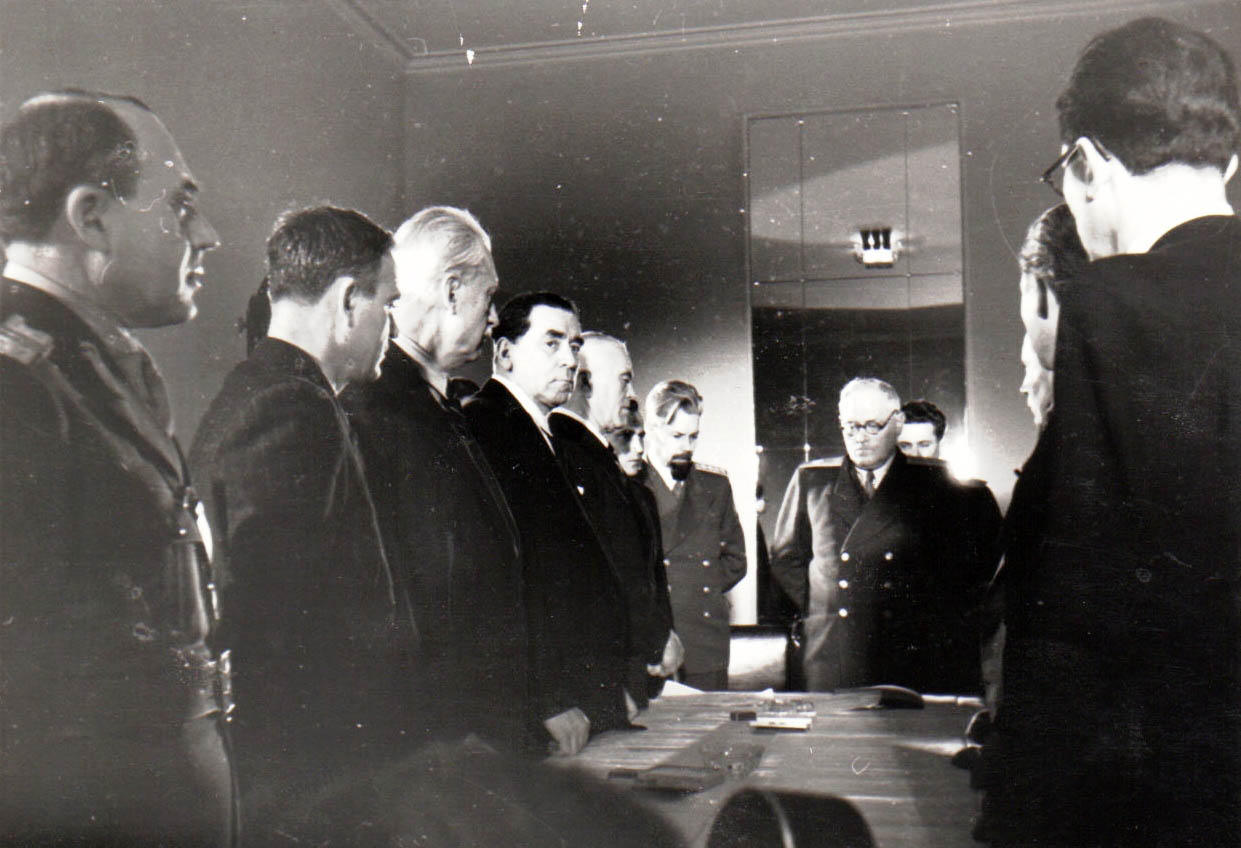 VishinskiTatarescuGheorghiu-DejGroza1945