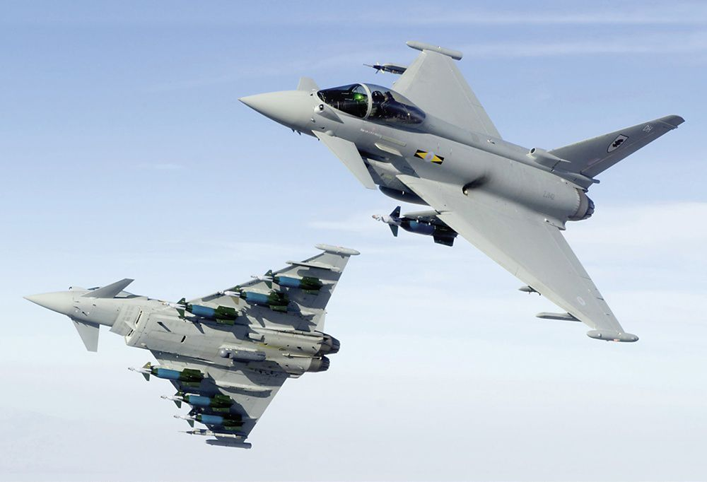 airbus, eurofighter
