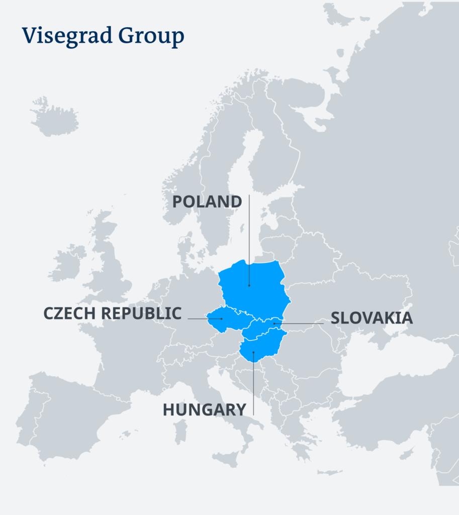 țările din Grupul de la Visegrad